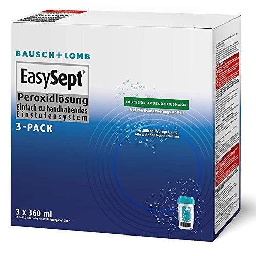 Bausch Lomb EasySept 3-Pack Pflegemittel für weiche Kontaktlinsen, 3 x 360 ml - 3