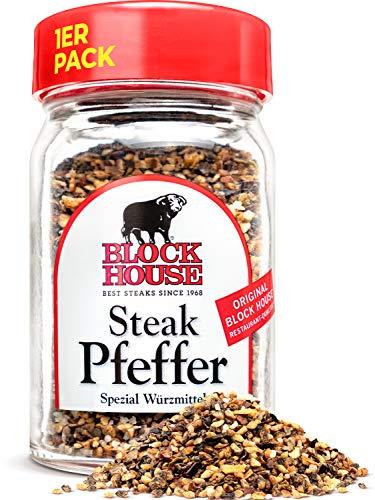 Block House Steak Pfeffer 50g Gewürzmischung im Glas – in Restaurantqualität