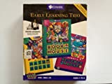 Early Learning Trio Win95 Tribrid CD-ROM: Millies Math, Baileys Book, Sammy's Science House