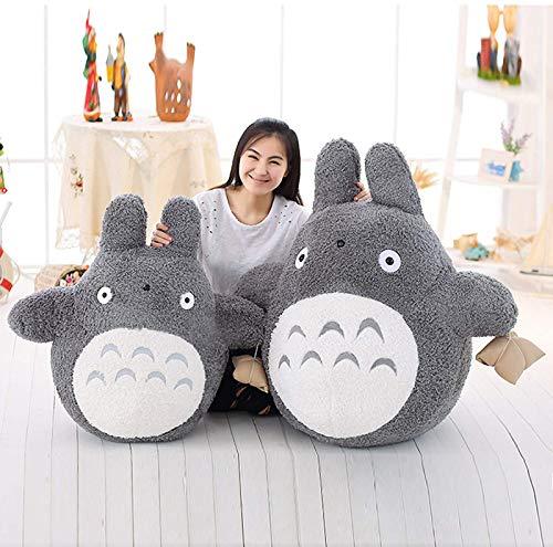 GLEYDY Mi Vecino Totoro Peluche Figura de Peluche Animal de Peluche, Almohada de Anime de Peluche Suave, compañero de Juego para niños,80cm
