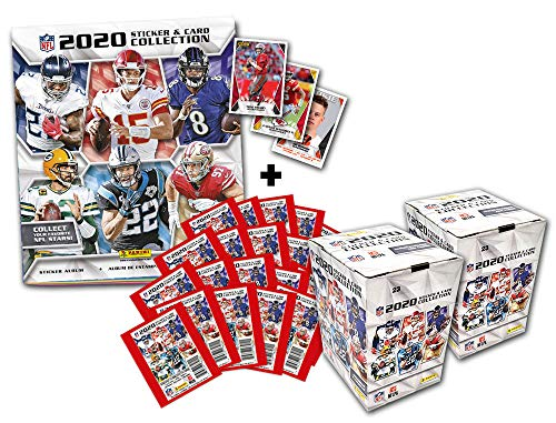 Panini NFL 2020 Sticker & Trading Cards - Touchdown-Bundle