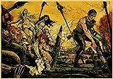 Aishangjia Retro Poster Mad Max Classic Movie Tom Hardy