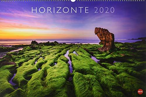 Horizonte. Wandkalender 2020. Monatskalendarium. Spiralbindung. Format 58 x 39 cm