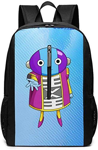 Ant Man Yellow Jacket 17-Zoll-Schulrucksack College-Tasche Laptop-Rucksack Rucksack mit großer Kapazität (Schwarz)