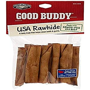 Castor & Pollux Good Buddy Made in USA Natural Chicken Flavor Rawhide Dog Treats