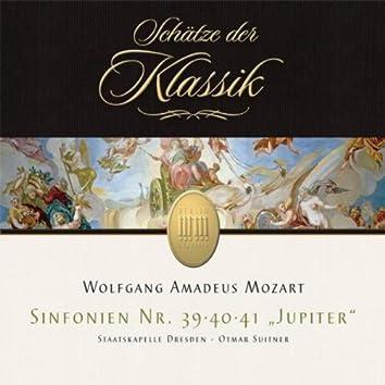 Mozart: Symphonies No. 39, 40 & 41 (Schätze der Klassik)