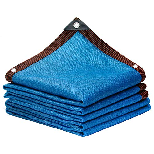 85% Telo Ombra Azzurro Rete Ombreggiante frangivento antistrappo Polietilene Telone Oscurante Giardino recinzioni coperture campi da Tennis balconi H 200cm
