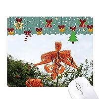 オレンジリバー ゲーム用スライドゴムのマウスパッドクリスマス