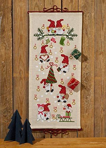 Permin Weihnachtsspaß Multi, 32 x 71 cm