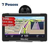 7' GPS Voiture Auto - Cartographie Europe 50 Pays Mise à Jour à Vie - 7 Pouces...