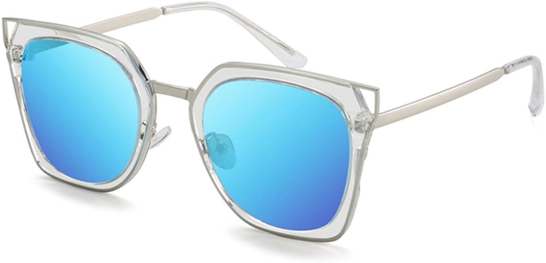 Sunglasses for Women, Oversized Round Lenses Women Sunglasses Polarized UV400 Mirror