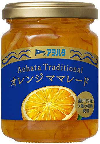 アヲハタ Traditional オレンジママレード160g×3個