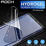 AICase Protector de Pantalla para Samsung Galaxy Note 9/Note 8 (Gel de hidrógeno Suave Aqua Flex, Alta definición, con Funda y Cobertura de Pantalla Completa), diseño antihuellas