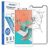 ebestStar - [Lote x3 Cristal Templado Compatible con ASUS Zenfone 5 Lite ZC600KL Protector de Pantalla, Película Vidrio Dureza 9H, Sin-Burbujas [Aparato: 160.6 x 76.2 x 7.8mm, 6.0'']