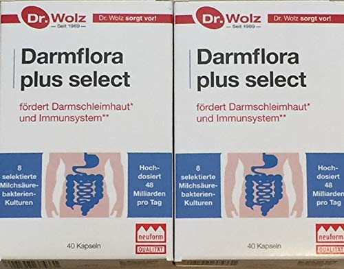Dr. Wolz Darmflora plus select 2 x 40 Kapseln (Doppelpack)