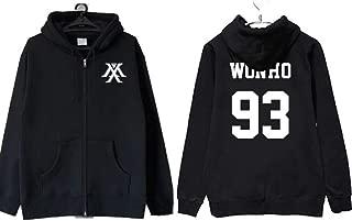 Kpop Monsta X The Clan Part.2 Guilty Zipper Hoodie Unisex Jooheon Sweatershirt