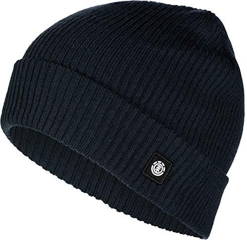 Element Flow II Beanie Head Wear, Hombre, Eclipse Navy, U