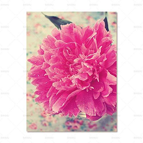 SERTHNY Leinwanddruck, Wandkunst, Gemälde aus Stoff, Blume, Dekoration, Kunstdrucke auf Leinwand, Wanddekoration ohne Rahmen.