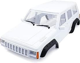 INJORA Hard Plastic 12.3 Inch/313mm Wheelbase Cherokee Body Car Shell for 1/10 RC Crawler Axial SCX10 & SCX10 II 90046 90047 Traxxas TRX4 Kit # 82016-4