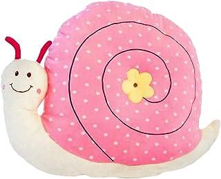 Tubayia Cojín de peluche con forma de caracol, para decoración de habitación infantil