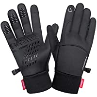 Lanyi Touchscreen Windproof Thermal Liner Gloves