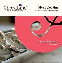 Mendelssohn Hymn of Praise SOPRANO Rehearsal CD