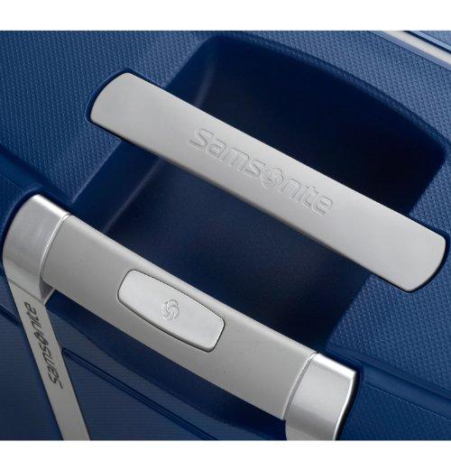 Samsonite S'Cure Hardside Luggage, Dark Blue, S'cure Spinner 28