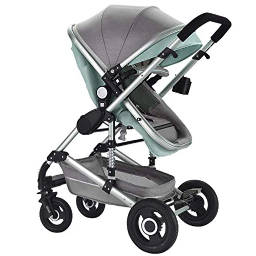 Best Review Of Baby Stroller, Convertible Reclining Stroller, Foldable and Portable Pram Carriage An...