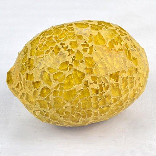 Angraves Mosaïque en Verre Jaune Citron (Jaune)