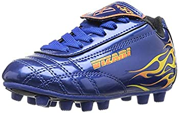 Vizari Blaze FG Soccer Shoe  Toddler/Little Kid ,Blue/Orange