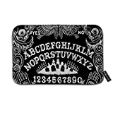 "Ouija Board Black Doormat Floor Mat with Non-Slip Backing Bath Mat Rug Funny Home Decor 23.6"" W×15.7"" H"