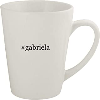 #gabriela - Ceramic 12oz Latte Coffee Mug