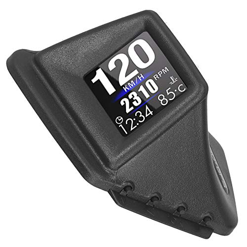 Pwshymi Coche Smart Gauge OBD + GPS Sistema Dual PC + ABS Medidor de Alarma de sobrevelocidad Pantalla de Alta definición Todos los Modelos de Coche