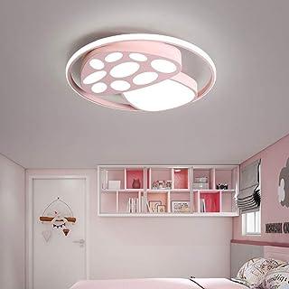 D13 European Pink Acrylic Diameter 50CM Children Kids Ceiling Lighting S