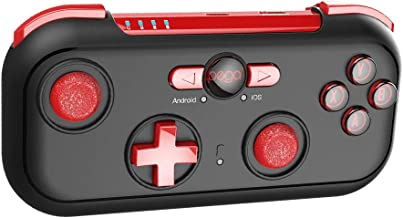 DoinMaster IPEGA Portable Bluetooth Gamepad Wireless Game Controller for Android & iOS Smartphone,iPhone,iPad,Tablet,SmartTV,Nintendo Switch,TV Box,PC (Win 7/8/10) with Protective Travel Case & Holder