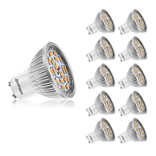 modèles à la mode choisir authentique grand choix de 2019 Ampoule LED GU10, 7W 550LM Spot LED, Équivalente 60W Ampoule Halogène,  Blanc Chaud 3000K, AC85-265V, 140° Larges Faisceaux, Ampoule Réflecteur LED  by ...