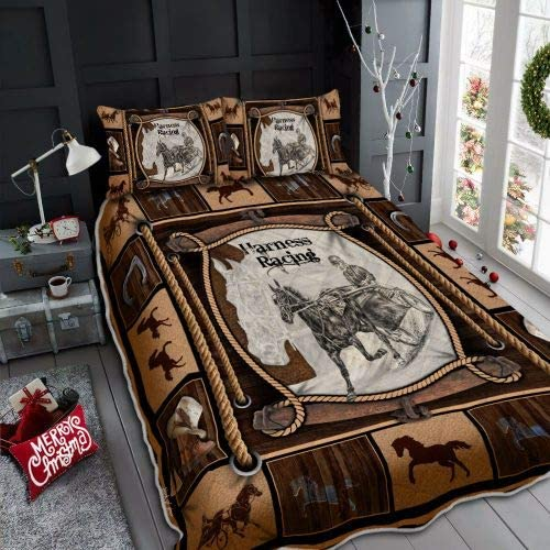 DOAN Harness Sale SALE% OFF Racing Quilt Bed Translated Set for Suitable -