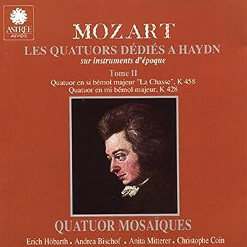 Mozart: Les quatuors dédiés à Haydn sur instruments d'époque, Vol. 2
