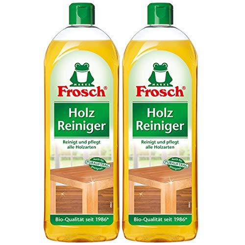 Frosch Holz Reiniger - mit natürlichen Pflegewirkstoffen der Kiefer. 2er Pack (2 x 750ml)