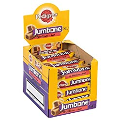 Chewy and tasty outer and a delicious mouth-watering, meat-flavoured center, that's Pedigree Jumbone, an optimum choice for training and rewarding time Packed with dog-friendly ingredients and a ideal taste, an adequate reward for on the go and at ho...