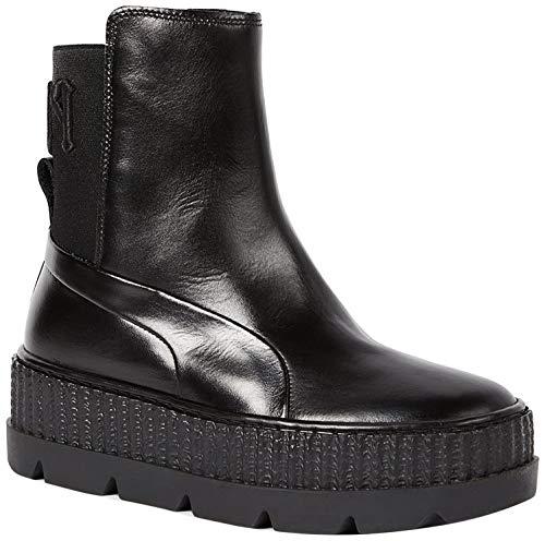 PUMA Women's Fenty x PUMA Chelsea Sneaker Boots, Puma Black, 6.5 B(M) US
