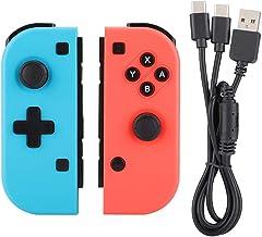 Controle sem fio para Nintendo Switch Bluetooth Gaming Controller Gamepad Joystick para console de bruxa esquerdo e direit...