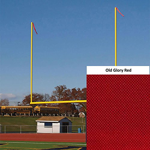 FlagandBanner Goal Post Wind Direction Streamers - Old Glory Red (40 in. x 4 in.)