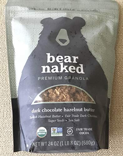 Bear Naked Premium Granola Dark Chocolate Butter 24 oz.