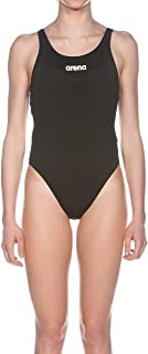 Arena W Solid Swim Tech High, Costume da Bagno Donna