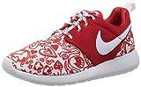 Nike Roshe One Print (GS), Zapatillas de Running para Niñas, Rojo/Blanco/Negro (University Red/White-Black), 38 EU