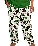 Lazy One Pajama Pants for Men, Men's Separate Bottoms, Lounge Pants, Funny, Humorous, Sasquatch (I Believe Bigfoot, X-Large)