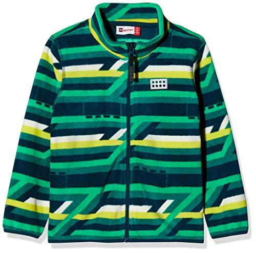 LEGO Wear Unisex Baby 21556 Duplo LWSIRIUS 702-Fleecejacke Jacke , Grün (Dark Green 875) , 80