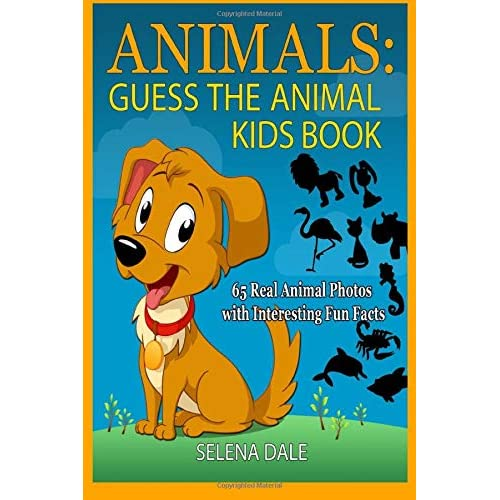 Animals:Guess the Animal Kids Book: 65 Real Animal Photos with Interesting Fun Facts (Guess and Learn Series)