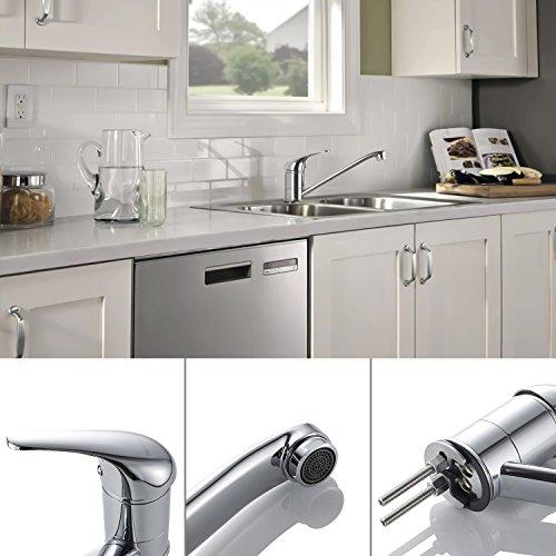 Auralum® Einhebel Spültisch Armatur Mischbatterie Wasserhahn Klasisch Design - 9